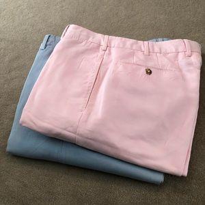 Incotex cotton dress pants chinolino